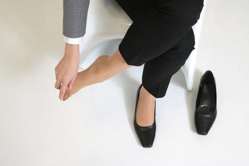 靴ずれ防止