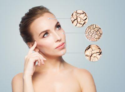 女性ホルモンの減少で乾燥肌に