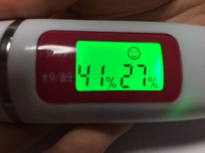 ストレピア使用5日目で肌弾力や水分量は完全に安定!