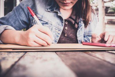 ストレスの要因を書き出して把握する