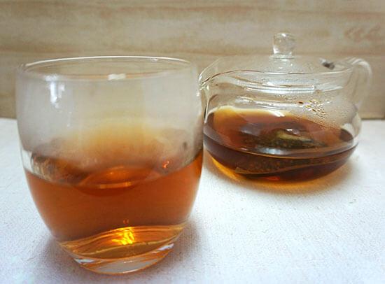 重ね発酵ハーブ茶 試した結果
