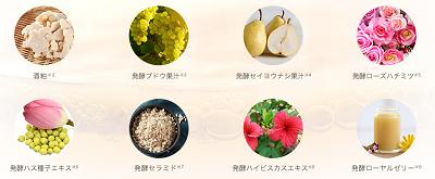 京都老舗の酒粕を含む8種類の発酵エキス