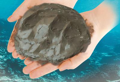 毛穴の奥に入り込んで汚れを落とす 美容泥「くちゃ」