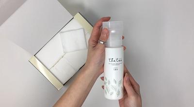 teatea(ティアティア)ふきとり化粧水を使って効果をレポート!