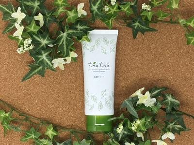 teatea(ティアティア)洗顔フォーム 注目の成分は全部で3種類!