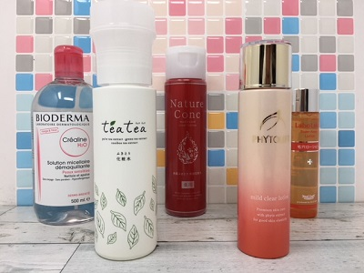 売れ筋ふきとり化粧水のコスパ比較