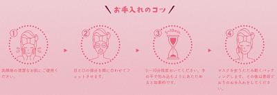 桜プレミアムルルルンの使い方