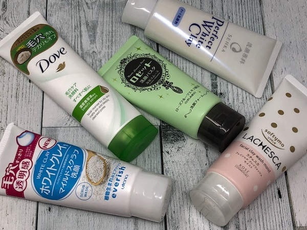 【総評】クレイ配合の洗顔フォームは個々に特徴アリ!自分好みの商品を探してみるのもおもしろいかも!