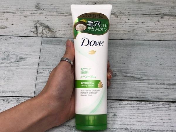 第5位:Dove(ダヴ) ディープピュア洗顔料