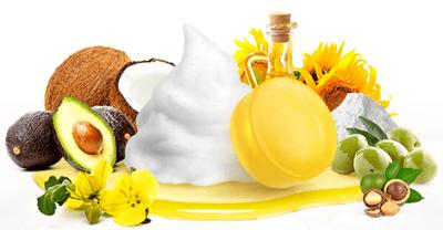 素美 天然もろみ石鹸には天然植物成分が7種類も配合されている!