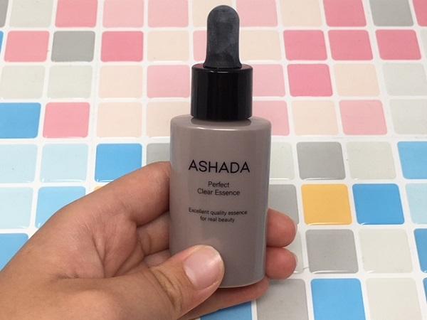 ASHADA(アスハダ)パーフェクトクリアエッセンスを実際に使ってみました!