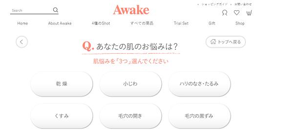 Awake(アウェイク)熟睡肌はつくれるの内容は?