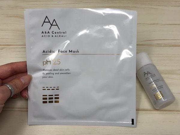 酸性角質ケアフェイスマスクとアルカリ性エッセンスを実際に使ってみました!