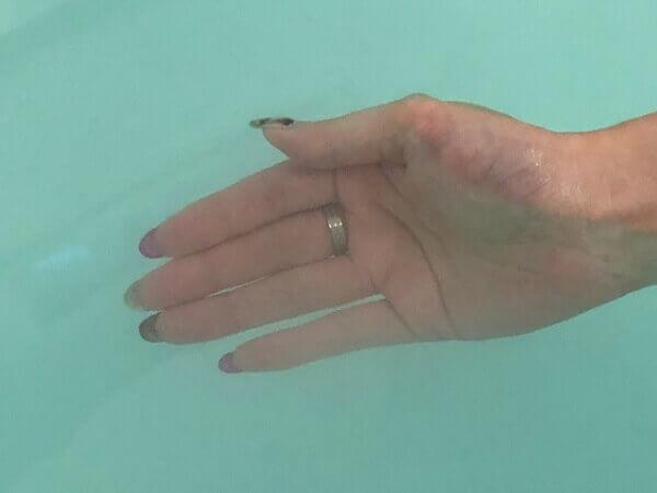 BARTH(バース) 中性重炭酸入浴剤の入浴前と入浴後の表面体温変化