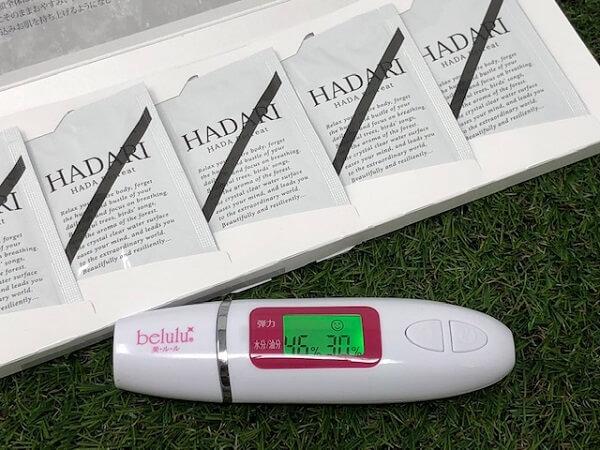 HADARI(はだり)の保湿力をデータでチェックしてみよう!
