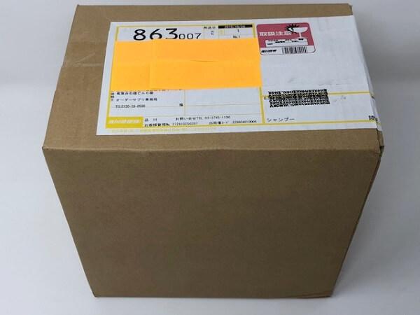 黒髪クリームシャンプーKAMIKA(カミカ)申し込みから2日後に到着!