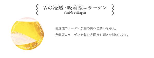 リペアには2つのコラーゲンと4種の美容成分が配合
