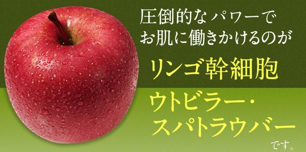 リンゴ幹細胞エキスで眠っている肌を呼び起こす