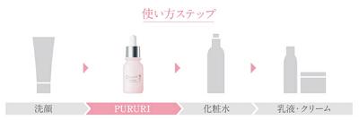 PURURI(ぷるり)の使い方は?